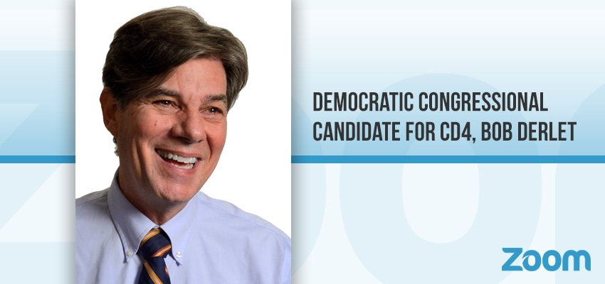 Democratic Congressional Candidate for CD4, Bob Derlet